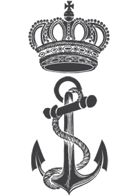 Invest Offshore Crown & Anchor Icon