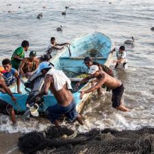 Fishermen in Acapulaco, Mexico - Expat