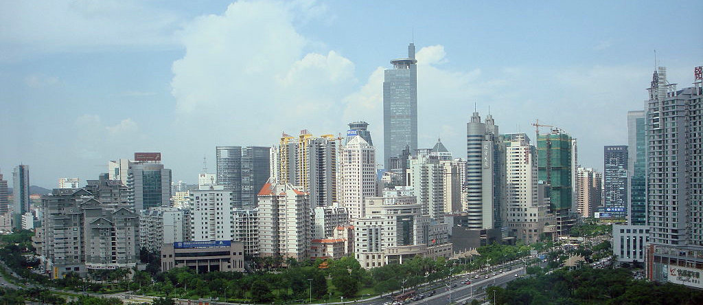 Nanning, China, skyline 2008
