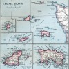 Map of Channel Islands 1907