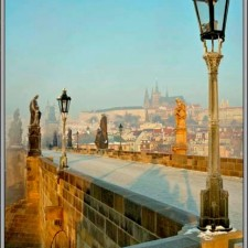 Prague Castle from Charles Bridge