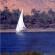 Dhow traversing the Nile near Aswan - IRA