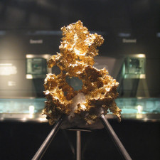 Crystalline Gold, Natural History Museum, London