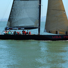 San Francisco's entry for the 31st America's Cup in 2003, USA 76 International Americas Cup Class yacht photo D Ramey Logan - Tax Planning
