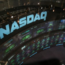 NASDAQ stock market display - Portfolio