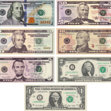 Money USD notes