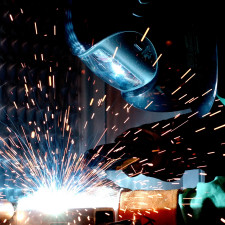 How much does a man gas metal arc welding
