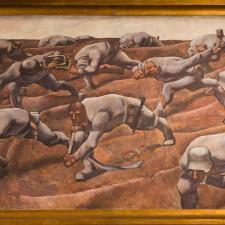 Albin Egger-Lienz, Die Namenlosen (the Nameless), Vienna,, Heeresgeschichtliches Museum), 1916, Tempera on linen, 245 × 476 cm - Bull market